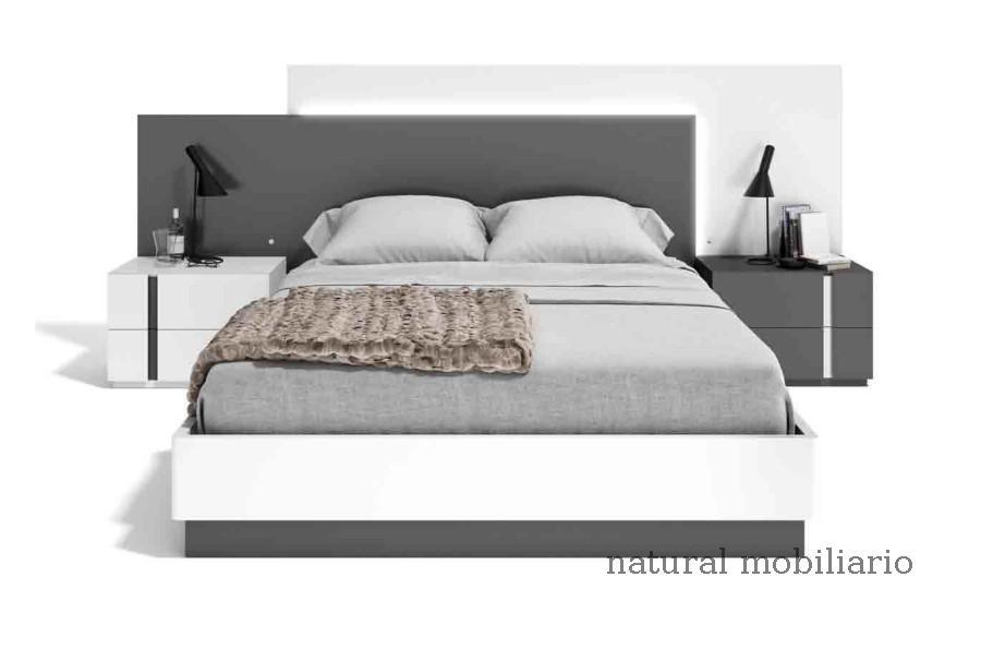 Muebles Modernos chapa natural/lacados dormitorio cubi 1-144 - 339