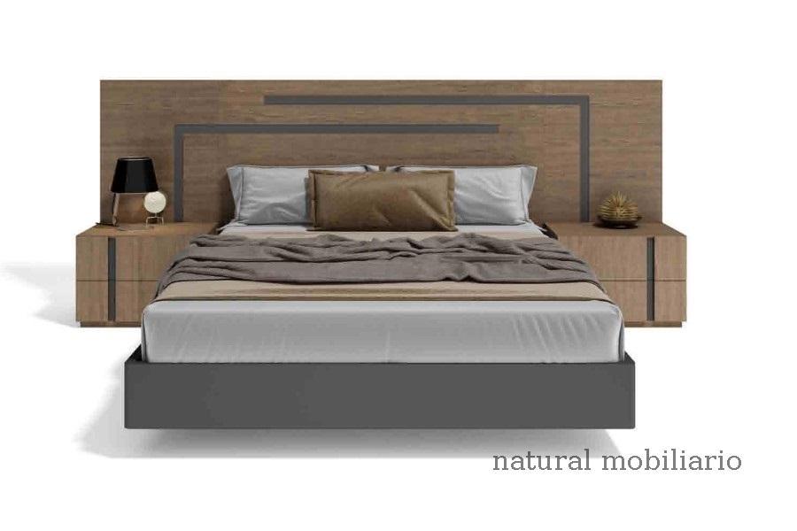 Muebles Modernos chapa natural/lacados dormitorio cubi 1-144 - 301