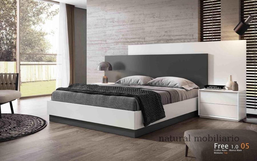 Muebles Modernos chapa natural/lacados dormitorio cubi 1-144 - 340