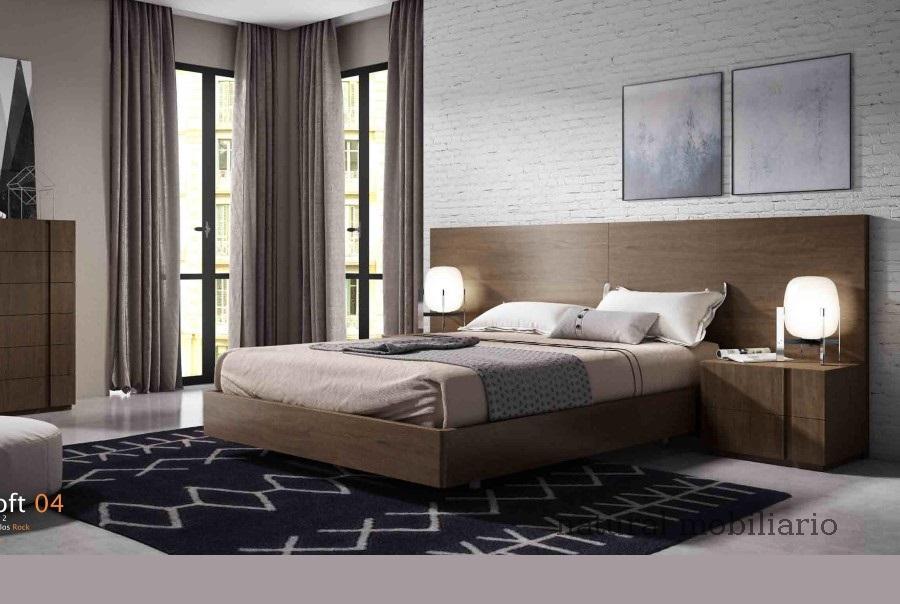 Muebles Modernos chapa natural/lacados dormitorio cubi 1-144 - 329
