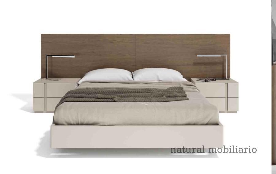 Muebles Modernos chapa natural/lacados dormitorio cubi 1-144 - 328