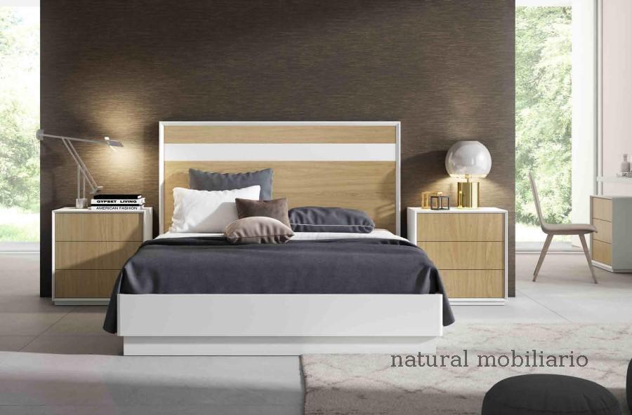 Muebles Modernos chapa natural/lacados dormitorio cubi 1-144 - 332