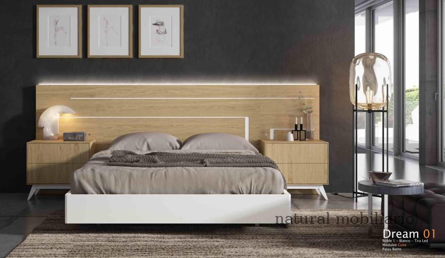 Muebles Modernos chapa natural/lacados dormitorio cubi 1-144 - 316