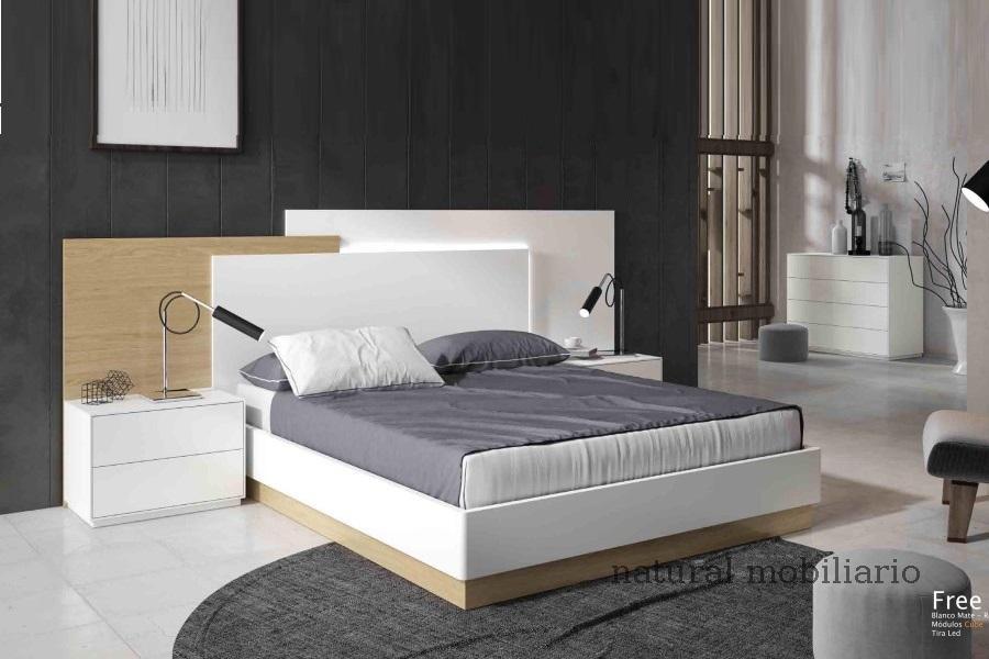 Muebles Modernos chapa natural/lacados dormitorio cubi 1-144 - 337