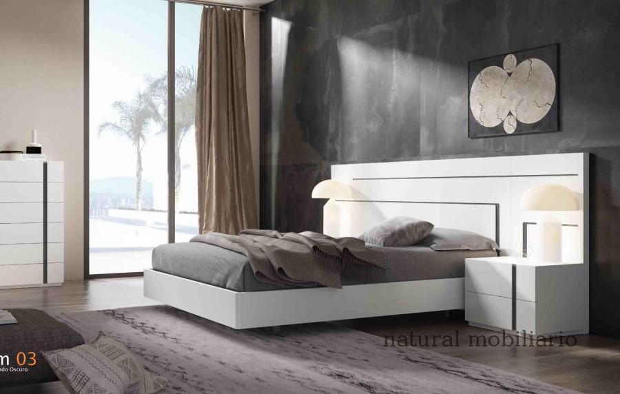 Muebles Modernos chapa natural/lacados dormitorio cubi 1-144 - 318