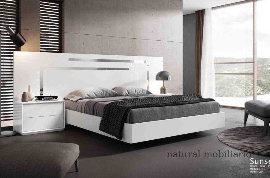 Muebles Modernos chapa natural/lacados dormitorio cubi 1-144 - 303