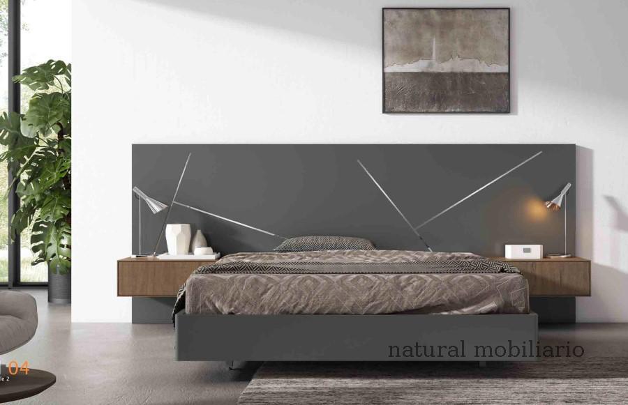 Muebles Modernos chapa natural/lacados dormitorio cubi 1-144 - 324
