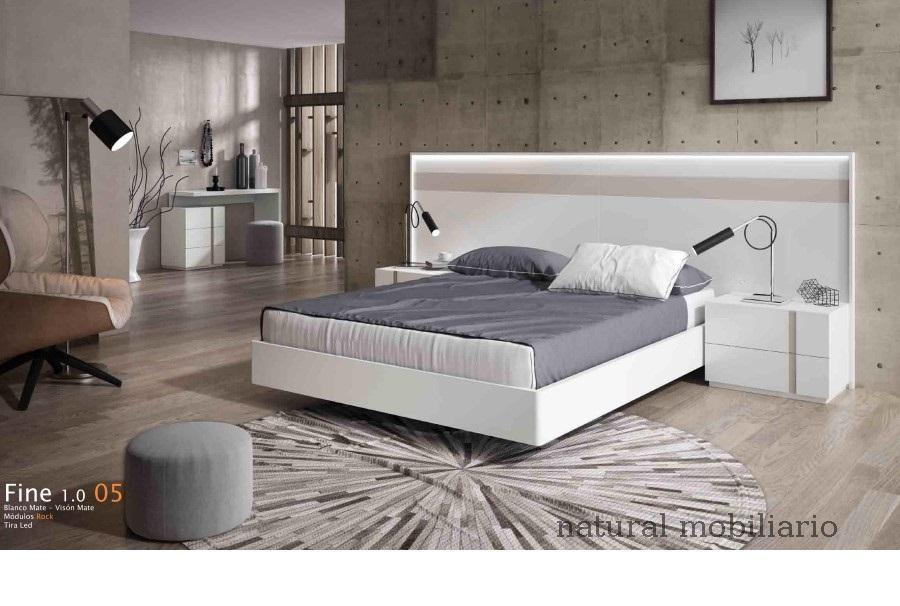 Muebles Modernos chapa natural/lacados dormitorio cubi 1-144 - 334