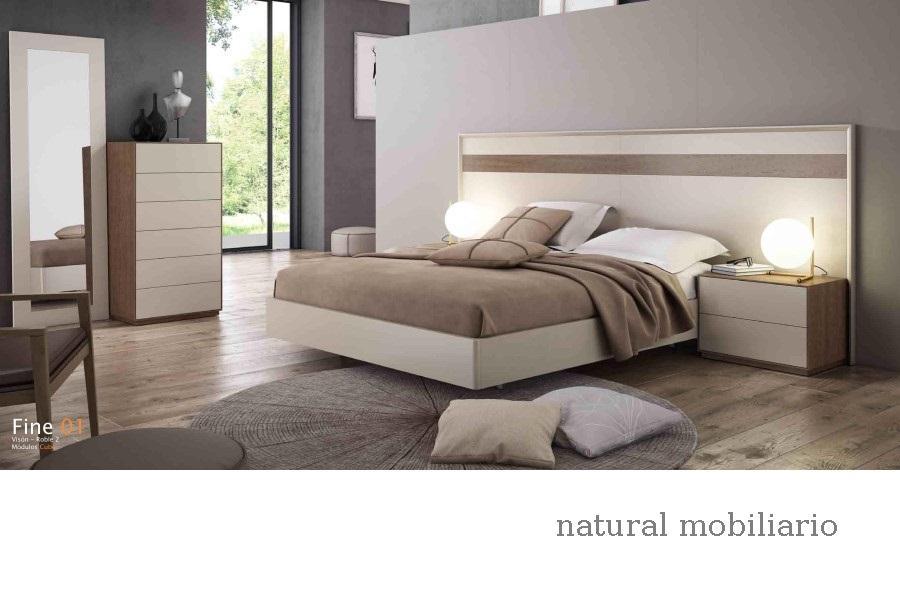 Muebles Modernos chapa natural/lacados dormitorio cubi 1-144 - 330