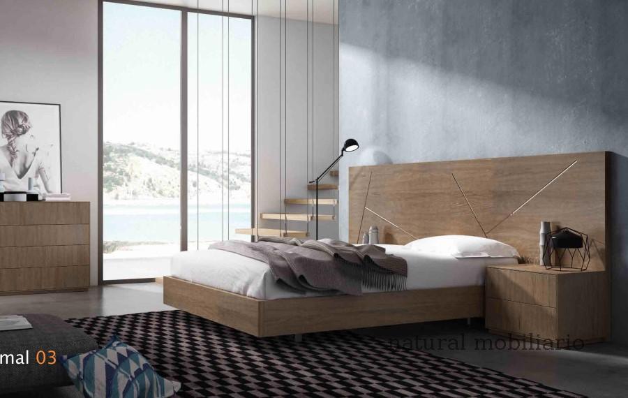 Muebles Modernos chapa natural/lacados dormitorio cubi 1-144 - 323
