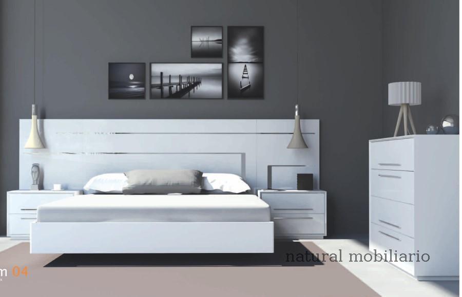 Muebles Modernos chapa natural/lacados dormitorio cubi 1-144 - 319