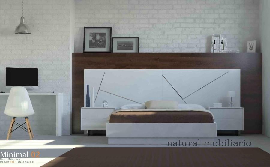 Muebles Modernos chapa natural/lacados dormitorio cubi 1-144 - 322