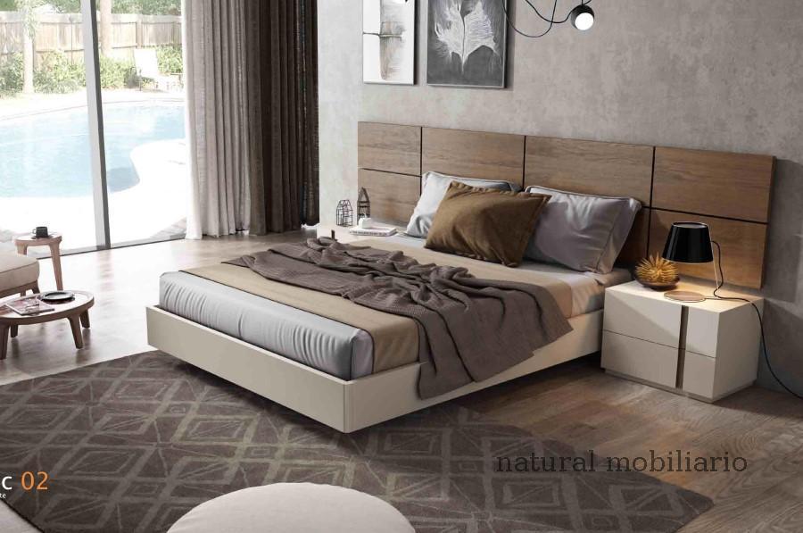 Muebles Modernos chapa natural/lacados dormitorio cubi 1-144 - 342
