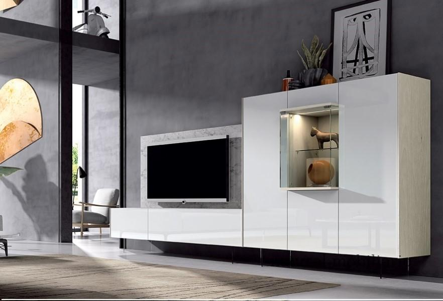 Muebles Modernos chapa sint�tica/lacados salon ka 1-23-408