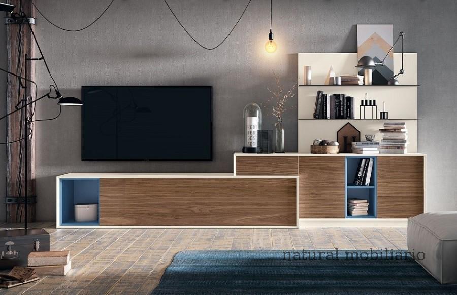 Muebles Modernos chapa natural/lacados salones cover 1-87-665