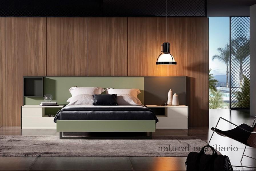 Muebles Modernos chapa natural/lacados dormitorio 1-87.366