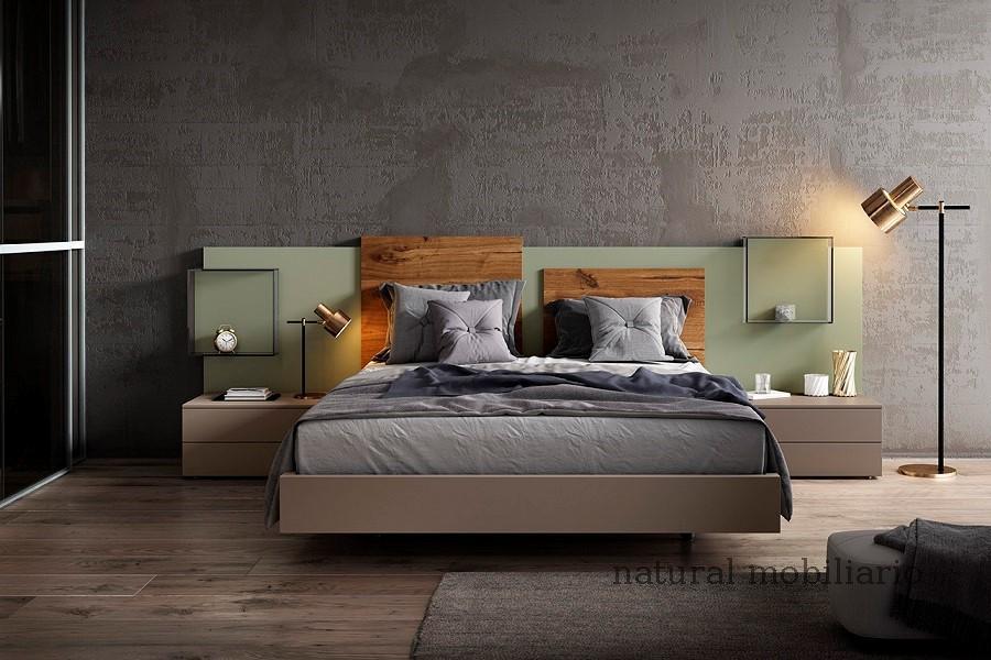 Muebles Modernos chapa natural/lacados dormitorio 1-87.363