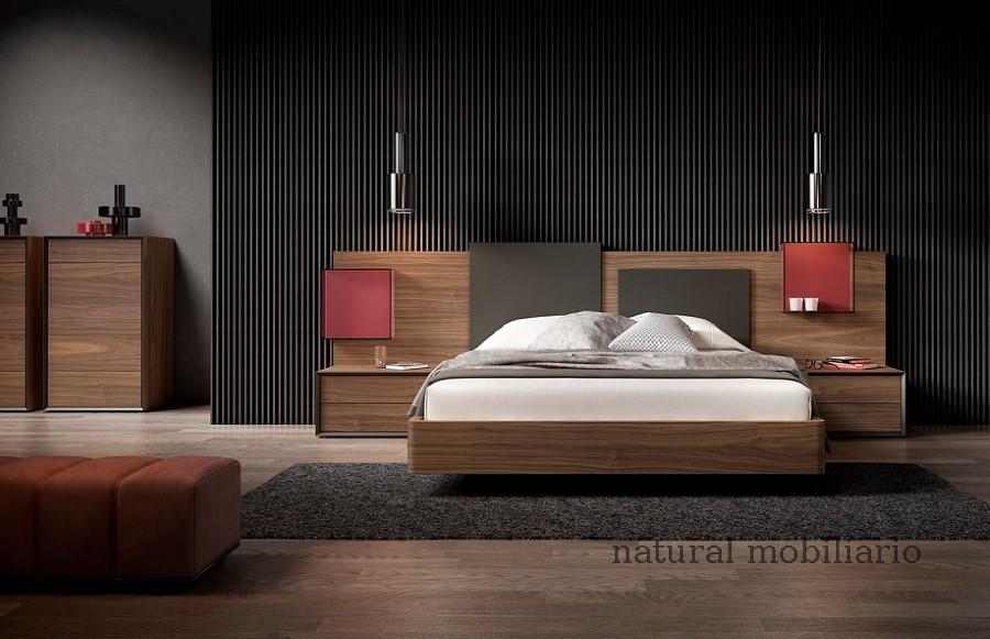 Muebles Modernos chapa natural/lacados dormitorio 1-87.368