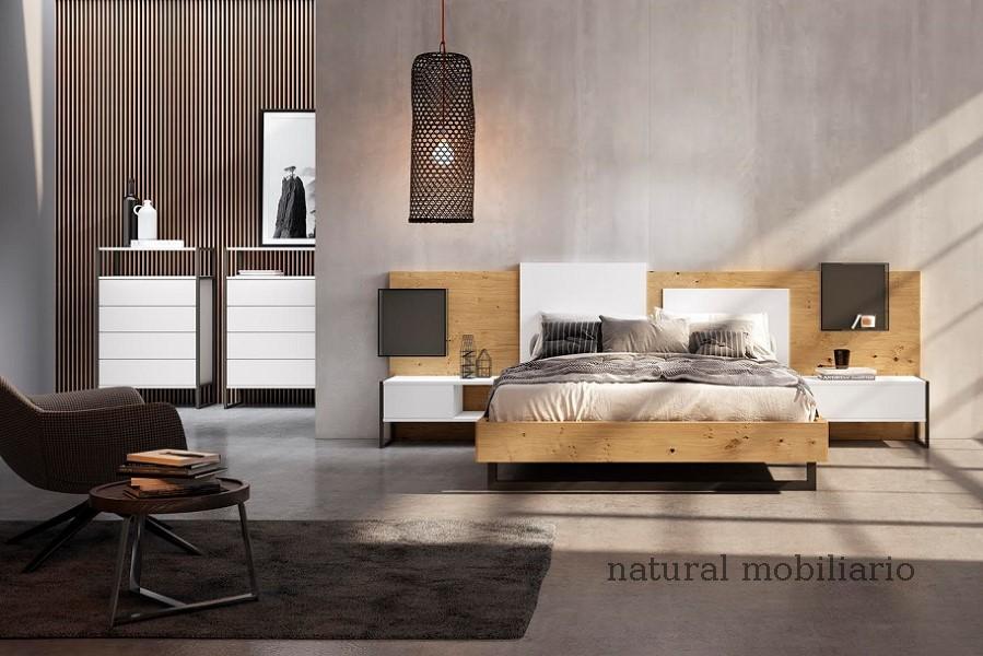 Muebles Modernos chapa natural/lacados dormitorio 1-87.367
