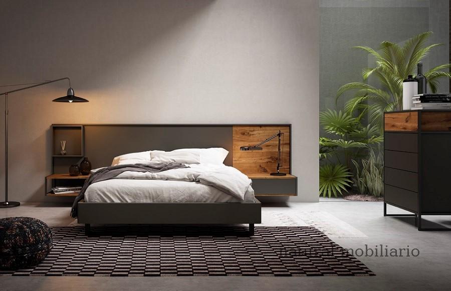 Muebles Modernos chapa natural/lacados dormitorio 1-87.360