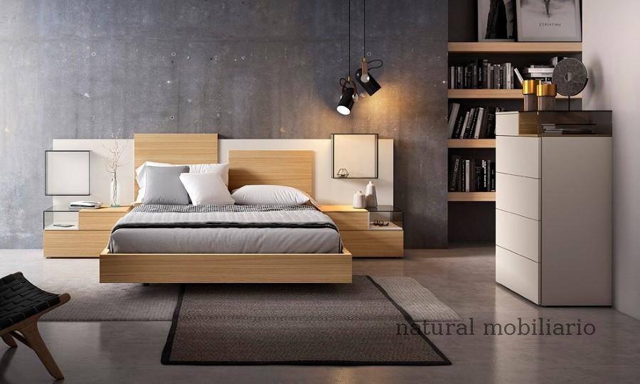 Muebles Modernos chapa natural/lacados dormitorio 1-87.361