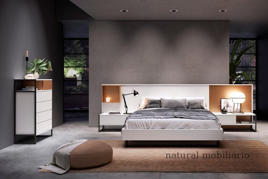Muebles Modernos chapa natural/lacados dormitorio 1-87.364