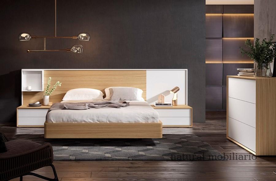 Muebles Modernos chapa natural/lacados dormitorio 1-87.369