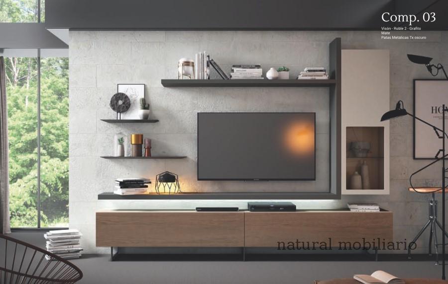 Muebles Modernos chapa natural/lacados  cubi ilusion room 1-232 - 162