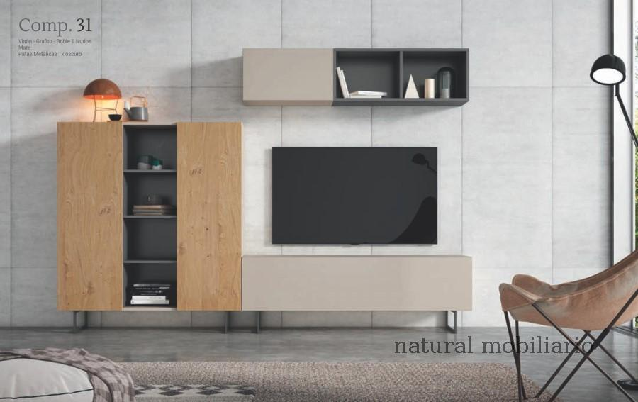 Muebles Modernos chapa natural/lacados  cubi ilusion room 1-232 - 190