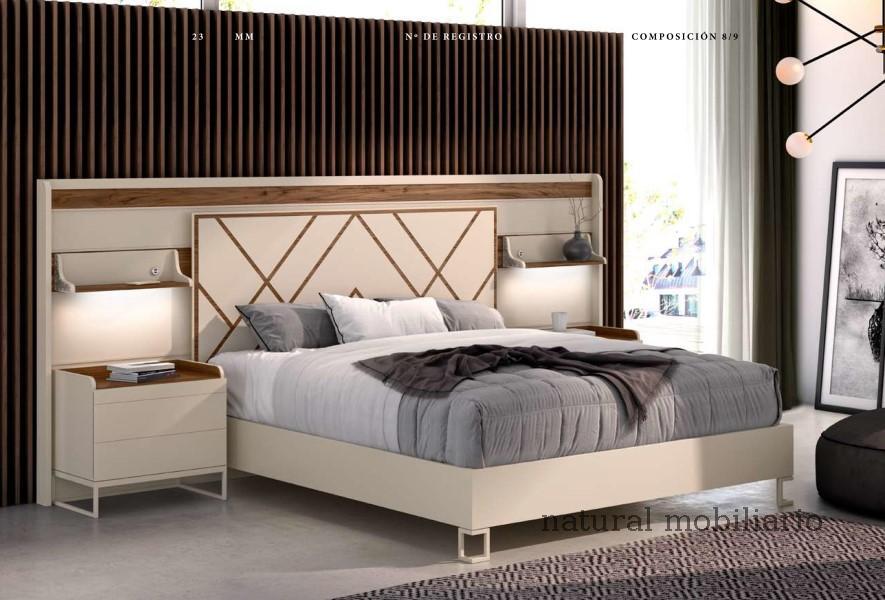 Muebles Contemporáneos dormitorio galaxi 2-93 - 417