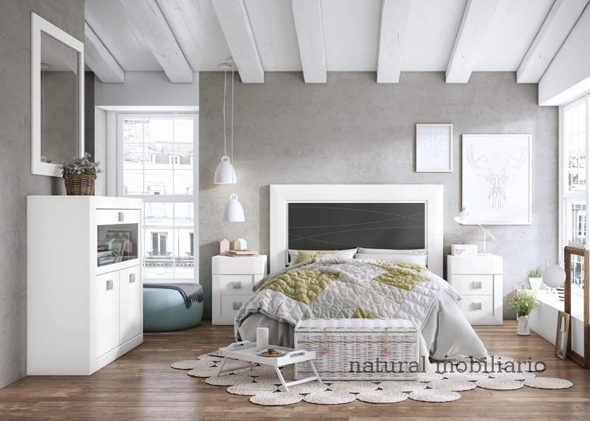 Muebles Rústicos/Coloniales dormitorio neva 1-89-554