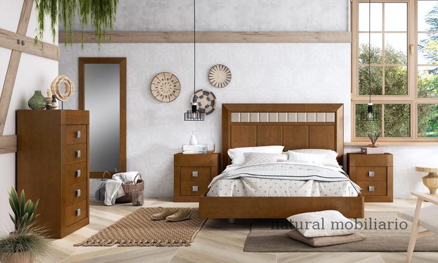 Muebles Rústicos/Coloniales dormitorio neva 1-89-559