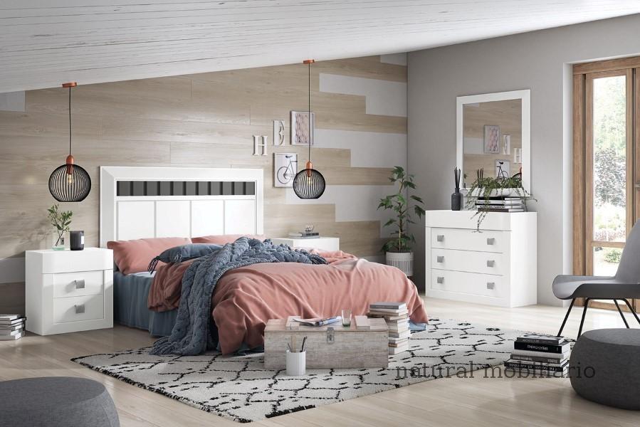 Muebles Rústicos/Coloniales dormitorio neva 1-89-560