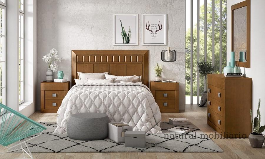 Muebles Rústicos/Coloniales dormitorio neva 1-89-556