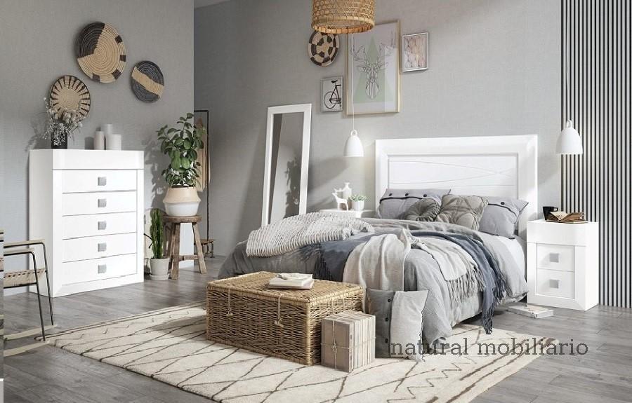 Muebles Rústicos/Coloniales dormitorio neva 1-89-551