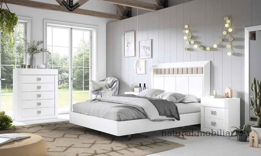 Muebles Rústicos/Coloniales dormitorio neva 1-89-561