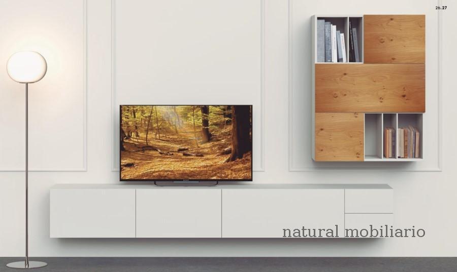 Muebles Modernos chapa natural/lacados apilable decorn 2-53-357