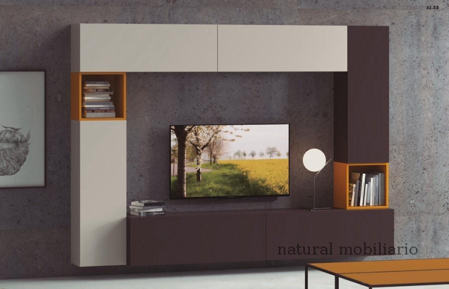 Muebles Modernos chapa natural/lacados apilable decorn 2-53-360