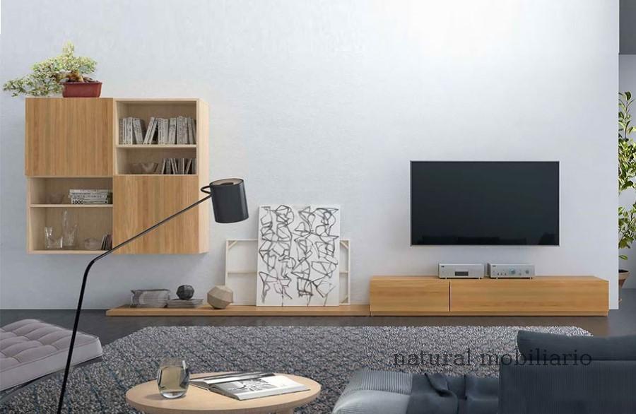 Muebles Modernos chapa natural/lacados apilable mazizo 2-67-365