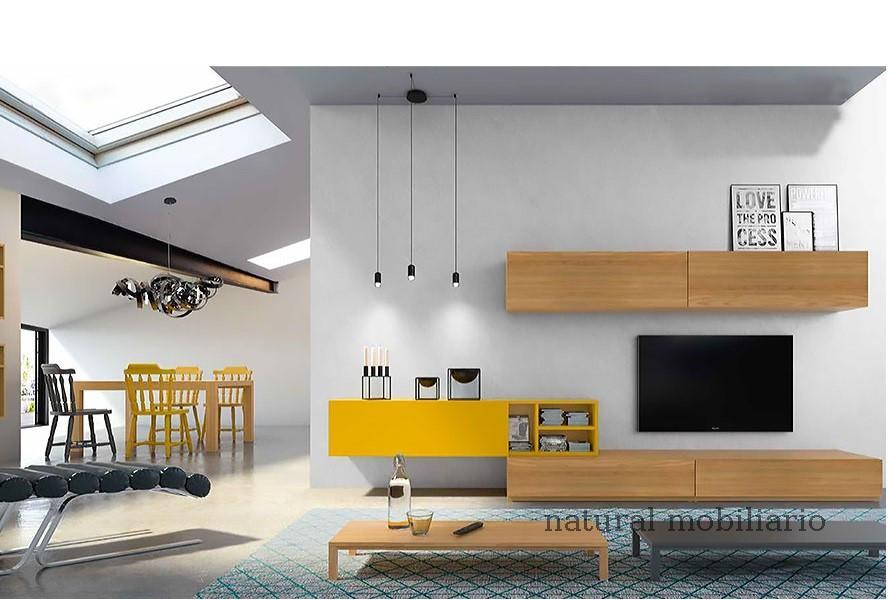 Muebles Modernos chapa natural/lacados apilable mazizo 2-67-370
