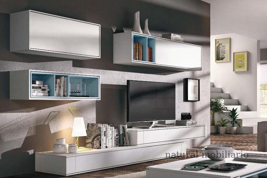 Muebles Modernos chapa natural/lacados salon moderno brit 1-672-704