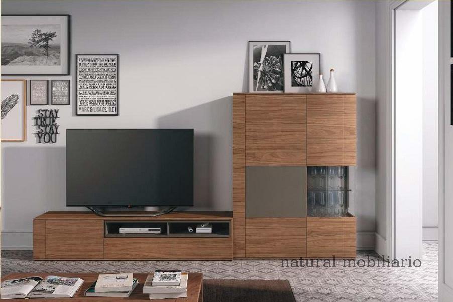 Muebles Modernos chapa natural/lacados salon moderno brit 1-672-706