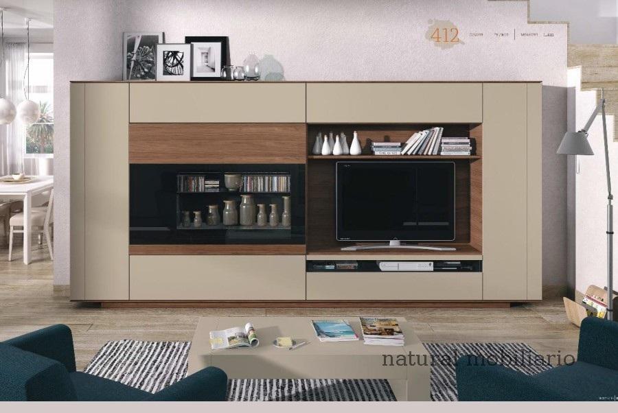 Muebles Modernos chapa natural/lacados salon moderno brit 1-672-711