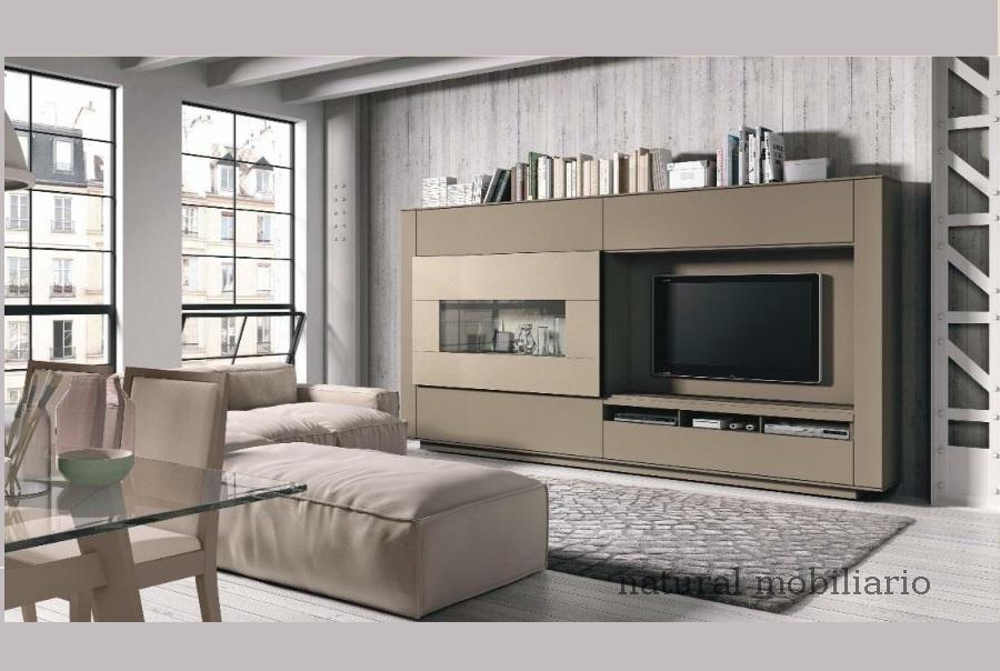 Muebles Modernos chapa natural/lacados salon moderno brit 1-672-713