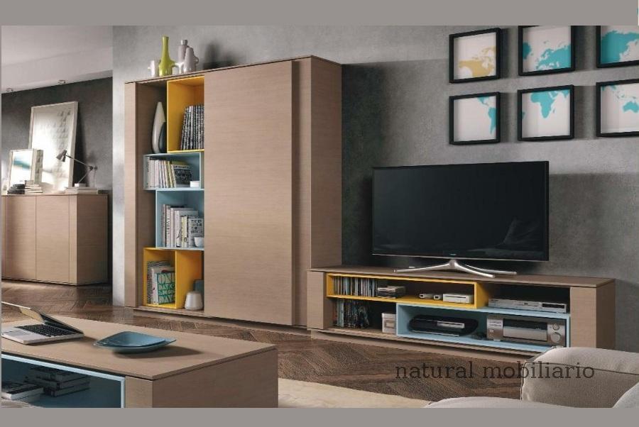 Muebles Modernos chapa natural/lacados salon moderno brit 1-672-714