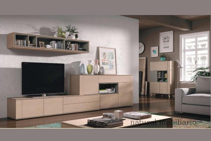 Muebles Modernos chapa natural/lacados salon moderno brit 1-672-717