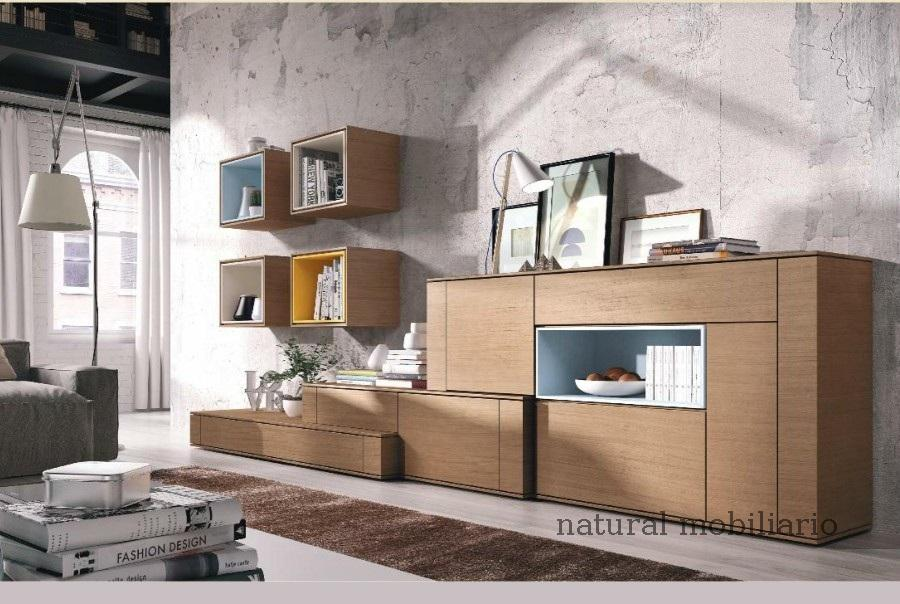 Muebles Modernos chapa natural/lacados salon moderno brit 1-672-718