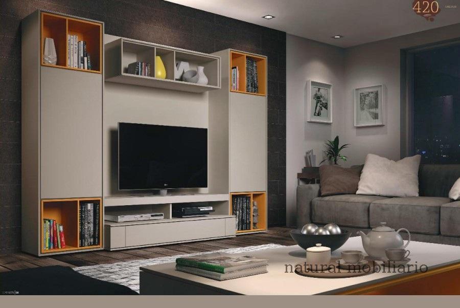 Muebles Modernos chapa natural/lacados salon moderno brit 1-672-719