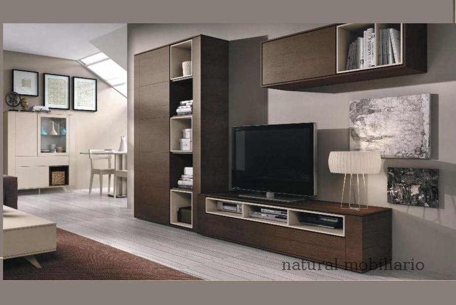 Muebles Modernos chapa natural/lacados salon moderno brit 1-672-720