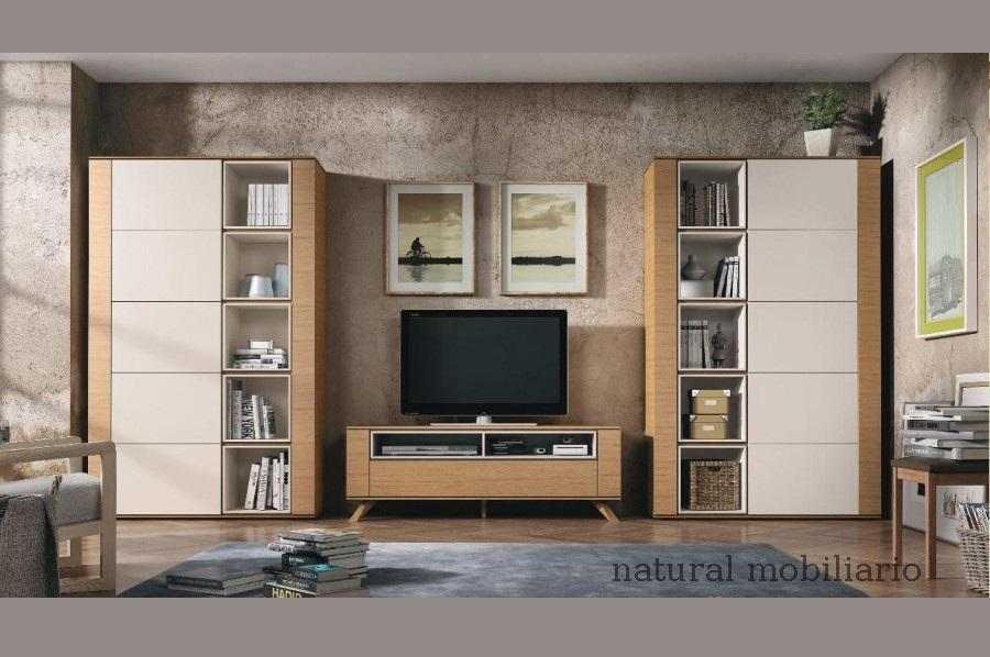 Muebles Modernos chapa natural/lacados salon moderno brit 1-672-721